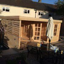 Chalet de 15 m2 avec sa terrasse