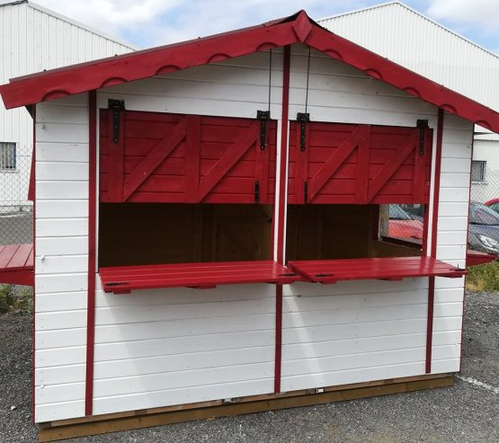 Kiosque Marchand démontable de 8.64m²