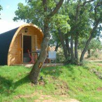06 Abri Pod de 16 m2 en madriers massifs de 44 mm avec sa couverture