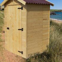 Abri WC bois massif avec plancher Eden 2,03 m²