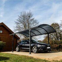 Garage/Carport en Alu pour une voiture de 14.62m²