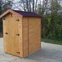 Abri de jardin en bois toilette sèche