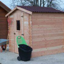Abri 26 de jardin en bois douglas de 20mm de 4.28 m²