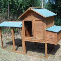 Poulailler 7 de 2,13m2 pour 5-8 poules