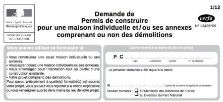 Dossier du permis de construire