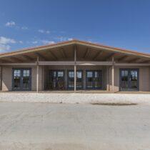 Maison 9 réalisée sur mesure en double madriers massifs de 44mm de 100m² + la terrasse de 20m²