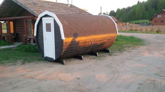 Abri /Tonneau de camping de 14m²