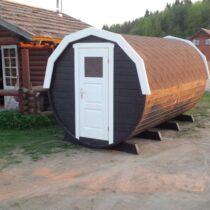 Abri /Tonneau de camping de 11.52m²